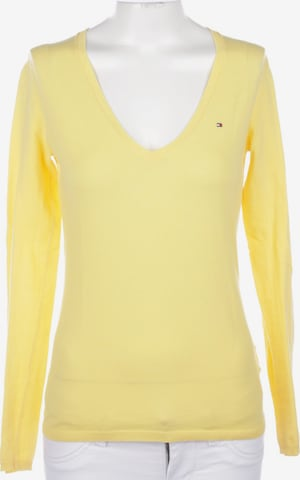 TOMMY HILFIGER Sweater & Cardigan in XS in Yellow