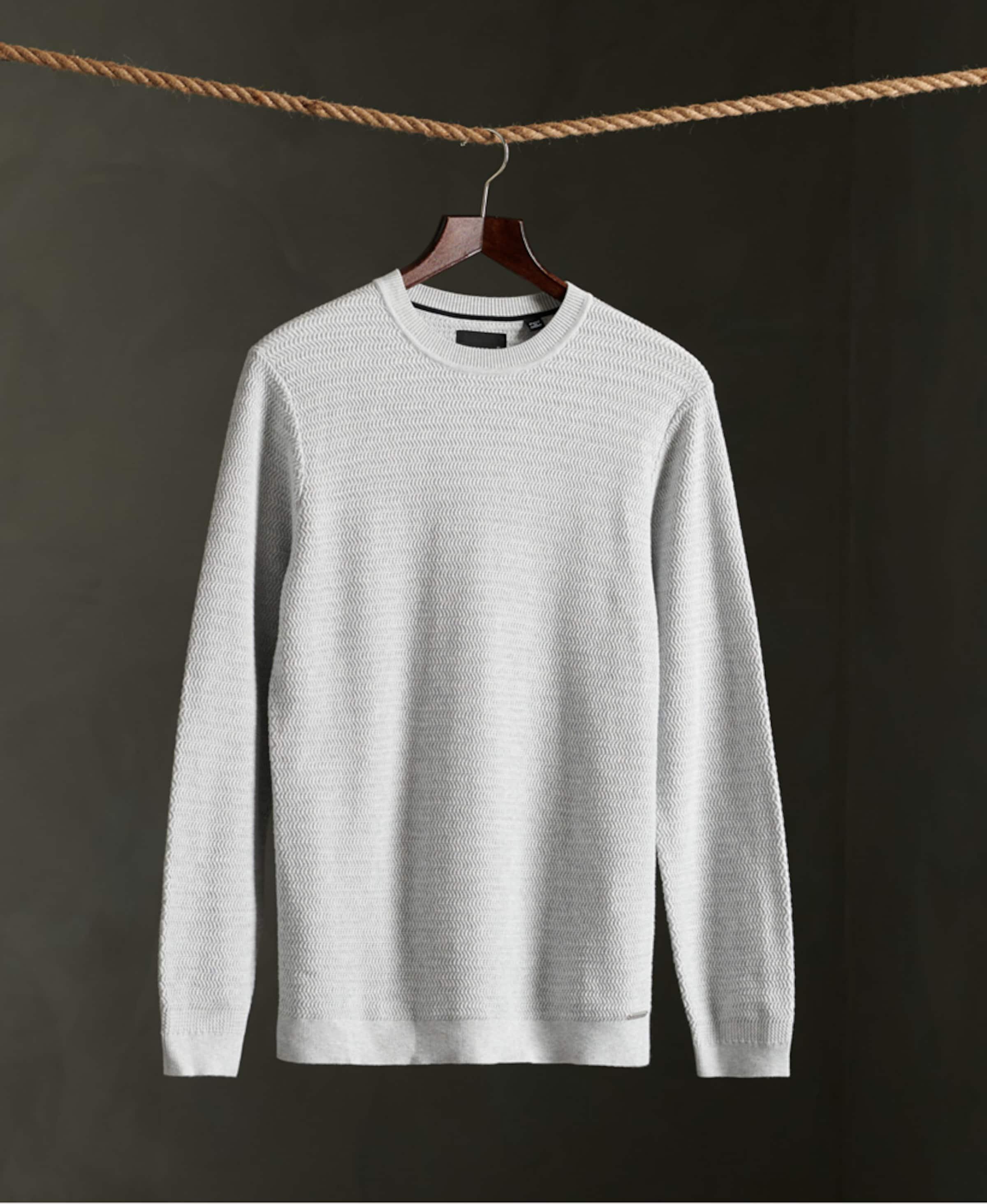 Superdry Pullover in grau Unifarben 1041411500508U7U001