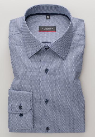 ETERNA Chemise business en bleu-gris, Vue avec produit