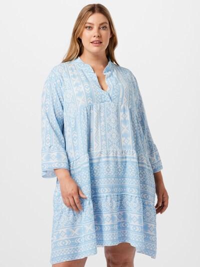 Z-One Kleid 'Lola' in hellblau / weiß, Modelansicht
