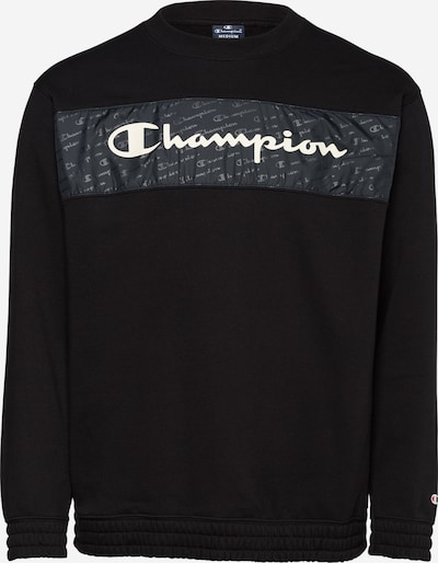 Champion Authentic Athletic Apparel Sweatshirt in basaltgrau / schwarz / weiß, Produktansicht