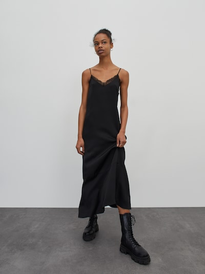EDITED Šaty 'Shanice' - černá, Model/ka