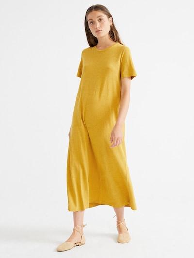 Thinking MU Kleid ' Hemp Oueme ' in senf, Produktansicht