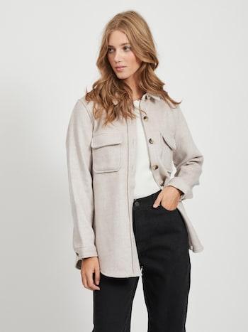 OBJECT bunda 'OBJVERA OWEN'v béžové barvě
