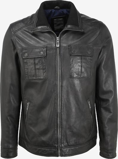 PIONEER Lederjacke PIO in schwarz, Produktansicht