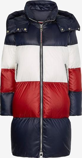 TOMMY HILFIGER Wintermantel in navy / rot / weiß, Produktansicht