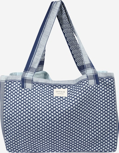 Cecilie Copenhagen Shoppingväska 'Bag Large Signature' i blå, Produktvy