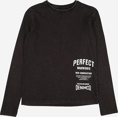 NAME IT Shirt 'RUHAN' in schwarz / weiß, Produktansicht