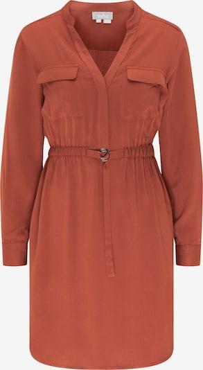 Usha Robe-chemise en marron, Vue avec produit