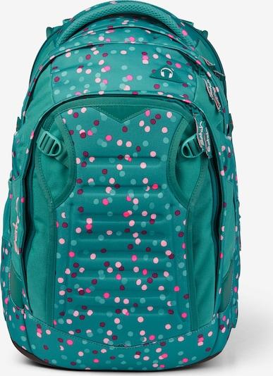 Satch Rugzak in de kleur Turquoise / Gemengde kleuren, Productweergave