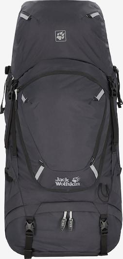 JACK WOLFSKIN Sportrugzak 'Highland Trail 55' in de kleur Antraciet / Wit, Productweergave