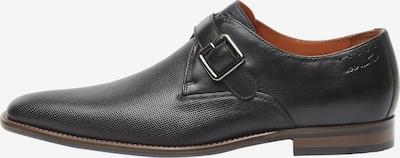 Van Lier Chaussure à lacets en noir, Vue avec produit