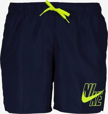 Nike Swim Badeshorts in Blau