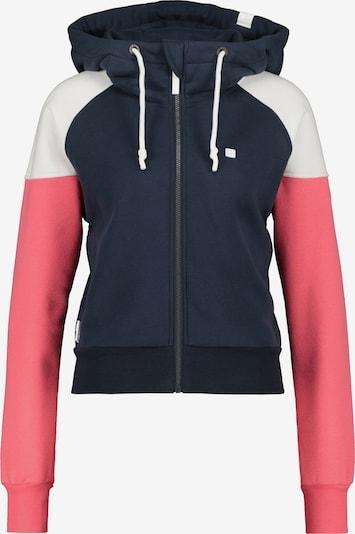 Alife and Kickin Veste de survêtement 'Cara' en bleu marine / rose / blanc, Vue avec produit