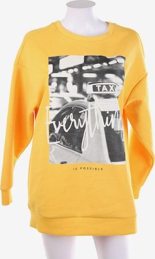 ONLY Sweatshirt & Zip-Up Hoodie in S in yellow gold, Item view