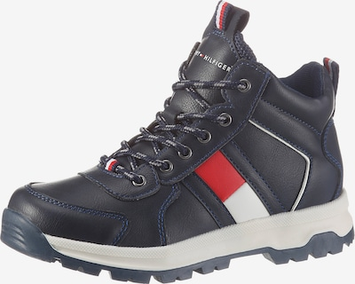 TOMMY HILFIGER Sneaker in navy / rot, Produktansicht