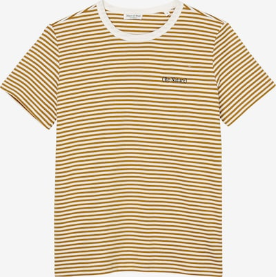 Marc O'Polo Shirt in Honey / Anthracite / White, Item view