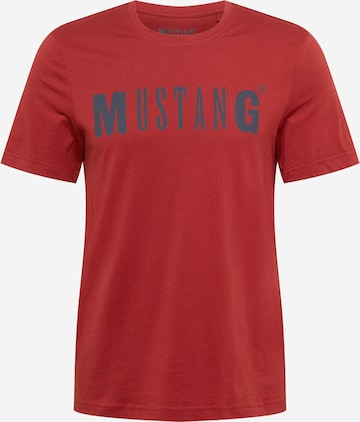 MUSTANG Skjorte 'Alex' i rød