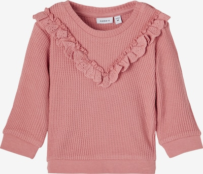 NAME IT Sweatshirt 'HANEEN' in de kleur Oudroze, Productweergave