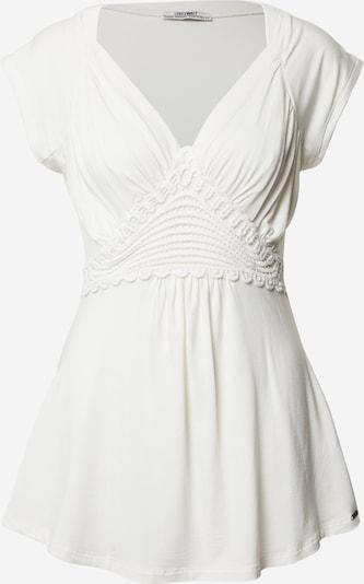 LOVE2WAIT Shirt in weiß, Produktansicht