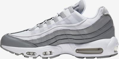 Nike Sportswear Baskets basses 'Air Max 95' en gris / gris clair / blanc, Vue avec produit