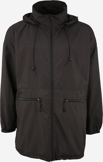 Urban Classics Plus Size Tussenjas in de kleur Zwart, Productweergave