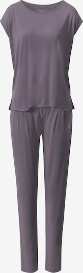 CURARE Yogawear Trainingsanzug in dunkelgrau, Produktansicht