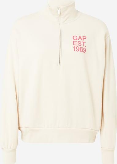 GAP Sweatshirt in beige: Frontalansicht