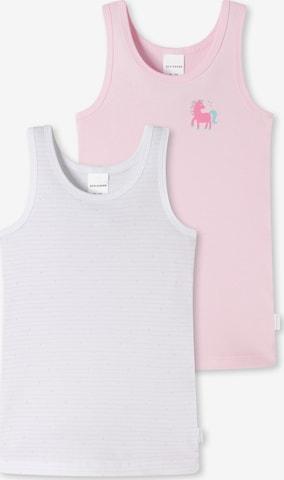 SCHIESSER Unterhemden ' 2er-Pack Basic Kids ' in Mischfarben