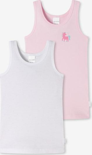 SCHIESSER Unterhemden ' 2er-Pack Basic Kids ' in rosa / weiß, Produktansicht