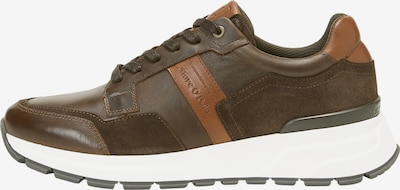 Marc O'Polo Sneakers laag in de kleur Cognac / Taupe, Productweergave