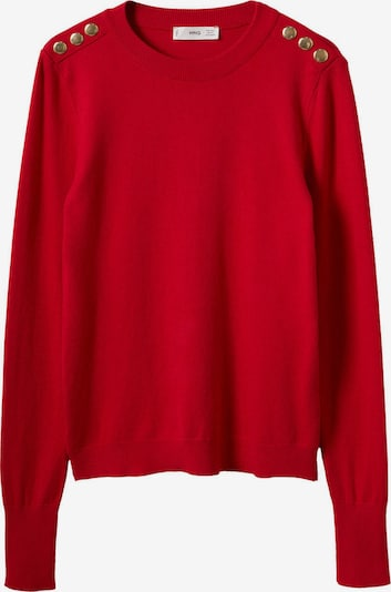 MANGO Sweater 'Jackson' in Gold / Red, Item view