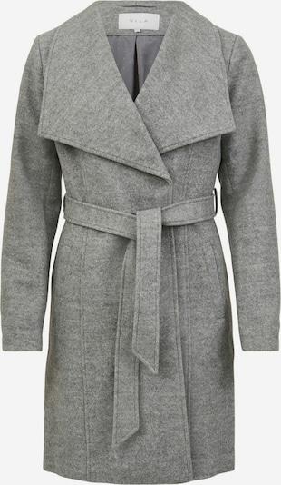 VILA Manteau mi-saison en gris clair, Vue avec produit