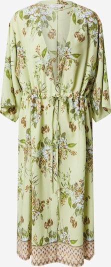 Cream Kimono 'Bahia' in de kleur Groen, Productweergave