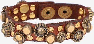 Campomaggi Armband in braun / gold, Produktansicht