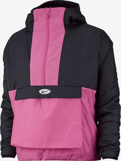 NIKE Jacke ' Sportswear Swoosh ' in pink / schwarz, Produktansicht