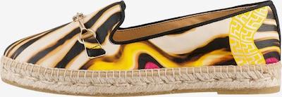 Högl Espadrille 'Amalfi' in gelb / pink / schwarz, Produktansicht