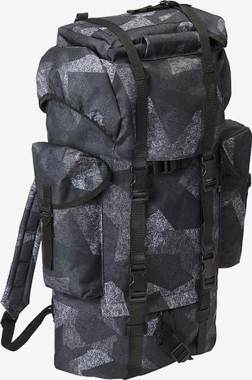 Brandit Rucksack in nachtblau / dunkelgrau / schwarz / weiß, Produktansicht