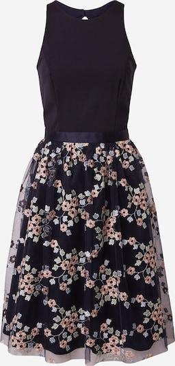 SWING Kleid in hellblau / dunkelblau / pastellgrün / rosa, Produktansicht