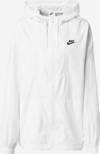 Nike Sportswear Prijelazna jakna u crna / bijela, Pregled proizvoda
