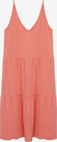 MANGO Dress 'Malibu' in Orange