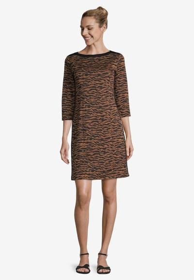 Betty Barclay Kleid in braun / schwarz, Modelansicht