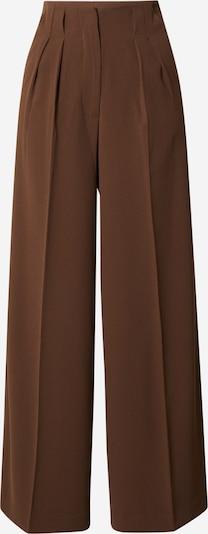 LeGer by Lena Gercke Pantalon à plis 'Camilla' en brun foncé, Vue avec produit