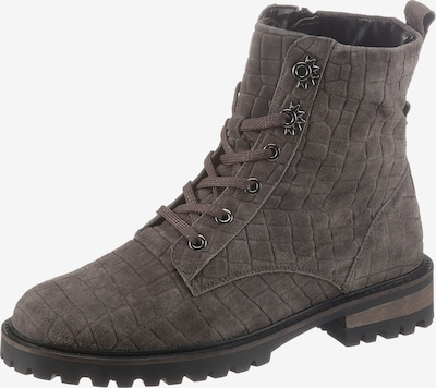 WALDLÄUFER Lace-Up Ankle Boots in Grey, Item view
