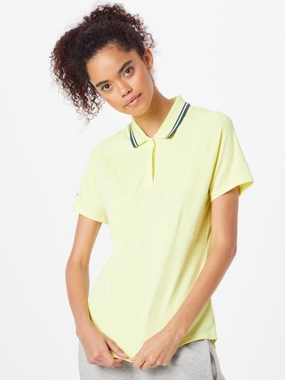 ADIDAS PERFORMANCE Performance Shirt in Blue / Lemon yellow: Frontal view