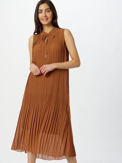 Cartoon Kleid in braun, Modelansicht