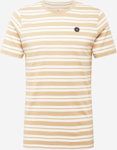 anerkjendt T-Shirt 'ROD' in beige / weiß, Produktansicht