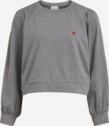 VILA Sweatshirt 'ADDY' in Grey
