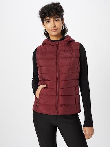 ABOUT YOU Vest 'Laureen', värv punane