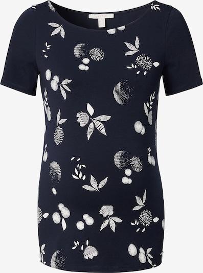 Esprit Maternity T-Shirt in nachtblau / weiß, Produktansicht